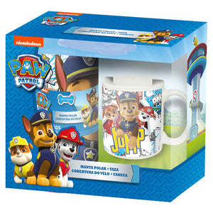 Paw Patrol Set - Decke + Tasse - Wonderland World