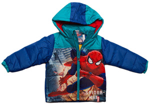 Spiderman Jacke - Blau - Wonderland World