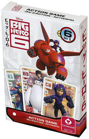 Disney Big Hero 6 Quartett Kartenspiel - Wonderland World
