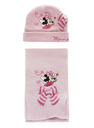 Baby Minnie Maus Winterset - Rosa - Wonderland World