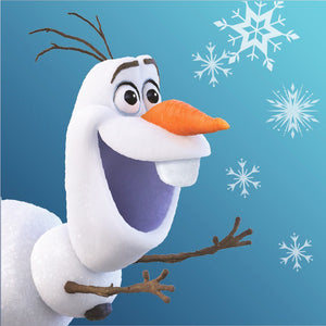 Disney Frozen 2 Olaf Waschlappen - 30x30cm - Wonderland World