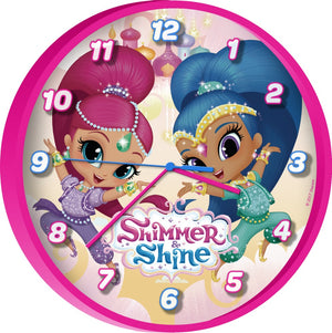 Shimmer & Shine Wanduhr - 25cm - Wonderland World