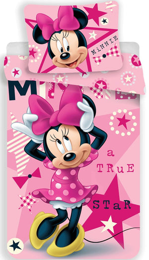 Disney Minnie Maus Bettwäsche - 140 x 200 cm - Wonderland World