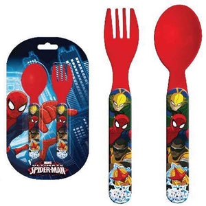 Spiderman Besteck Set 2-teilig - Wonderland World
