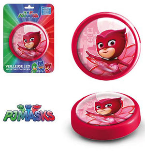 PJ Masks LED Nachtlicht - rot - Wonderland World