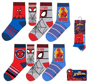 Spiderman - 3er Pack Socken - Wonderland World
