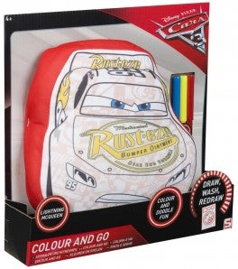 Disney Cars Kissen colour and go - zum selbst ausmalen - Wonderland World