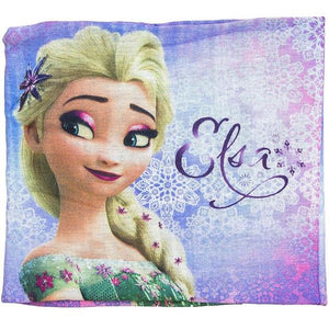 Disney Frozen Loop Schal mit Fleece - blau - Wonderland World