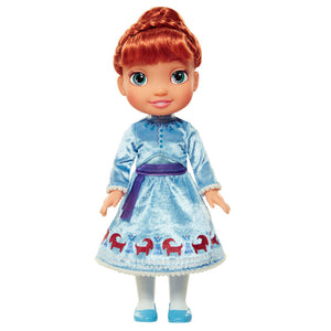Disney Frozen Anna Stehpuppe mit Winter Kleid 35 cm - Wonderland World