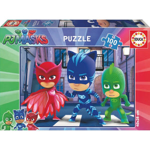 PJ Masks Puzzle - 100 Teile - Wonderland World