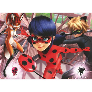 Miraculous Ladybug Holz Puzzle - 100 Teile - Wonderland World