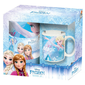 Disney Frozen Set - Decke + Tasse - Wonderland World