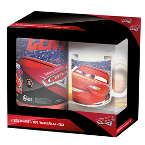 Disney Cars Set - Decke + Tasse - Wonderland World
