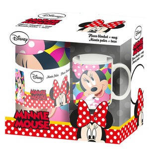 Disney Minnie Maus Set - Decke + Tasse - Wonderland World