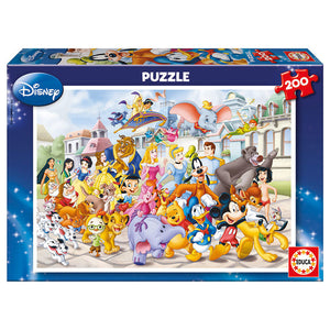 Disney Puzzle - 200 Teile - Wonderland World