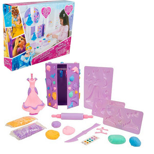 Disney Princess Kleid & Knet Bastelset - Wonderland World