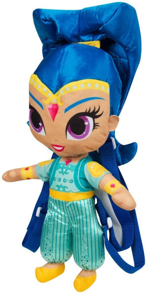 Shimmer & Shine 3D Rucksack 37cm - blau - Wonderland World