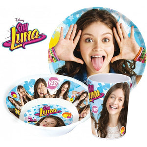 Soy Luna Geschirrset - Melamin - Wonderland World