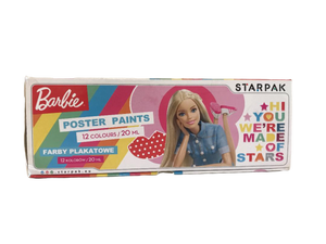 Barbie Posterfarben 12er-Set - Wonderland World