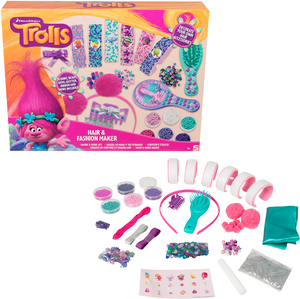 Trolls Haar & Mode Bastelset - Wonderland World