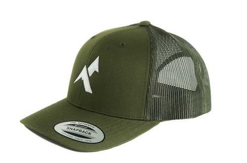 Forest Snapback Mesh