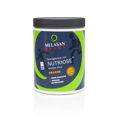 MELASAN Nutriose soluble fibre ORANGE / vegetarisches Sportgetränk