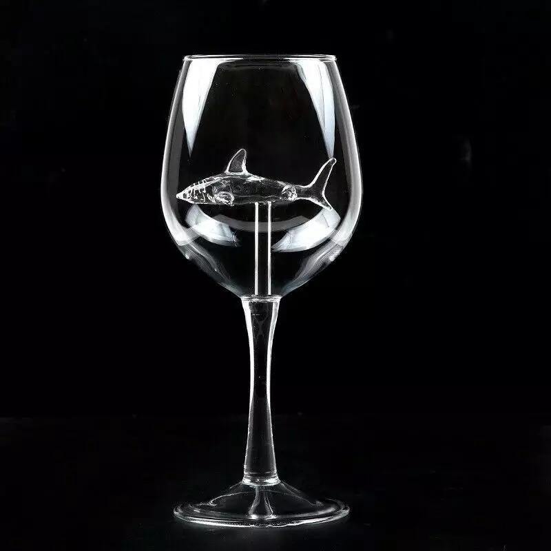 Shark Wine Glasses - yeshark