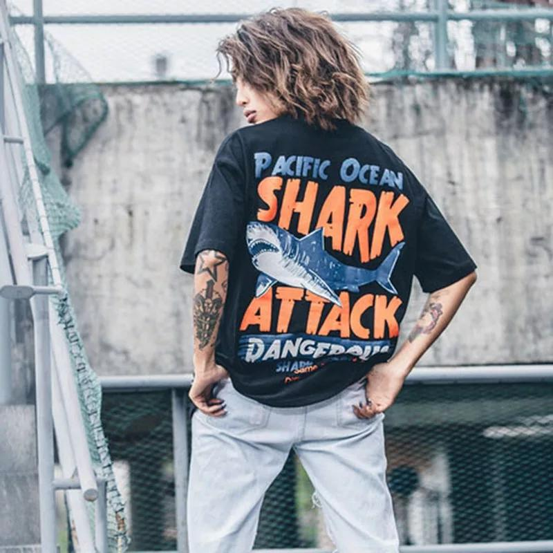 """Shark Attack"" T-shirts - yeshark"
