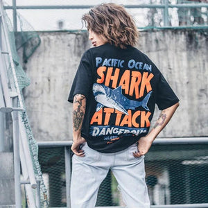 """Shark Attack"" T-shirts"