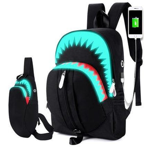 Shark Backpack - yeshark