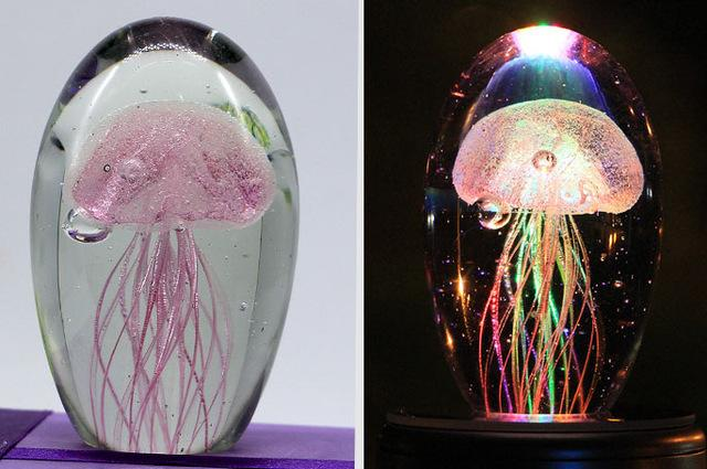 Jellyfish 3D Lamp - yeshark