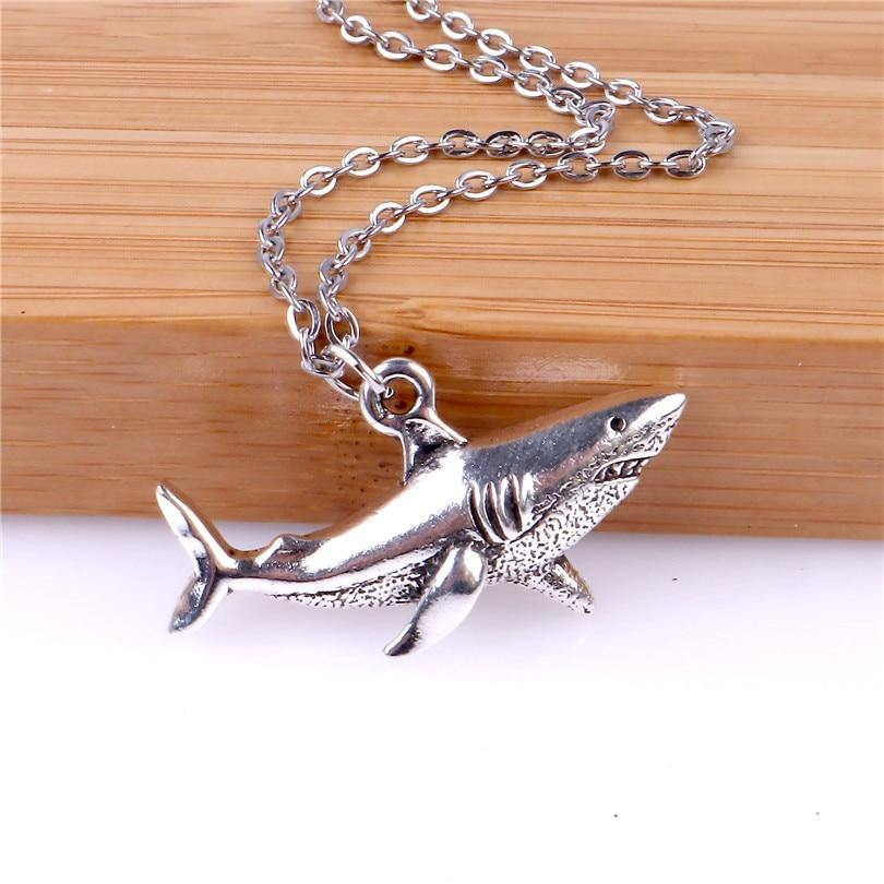 Shark Charm Necklace - yeshark