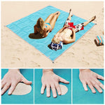 Sand-Proof Beach Mat - yeshark