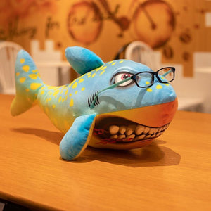 Angry Shark Plush Toy