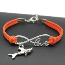 Load image into Gallery viewer, Shark Love Bracelet