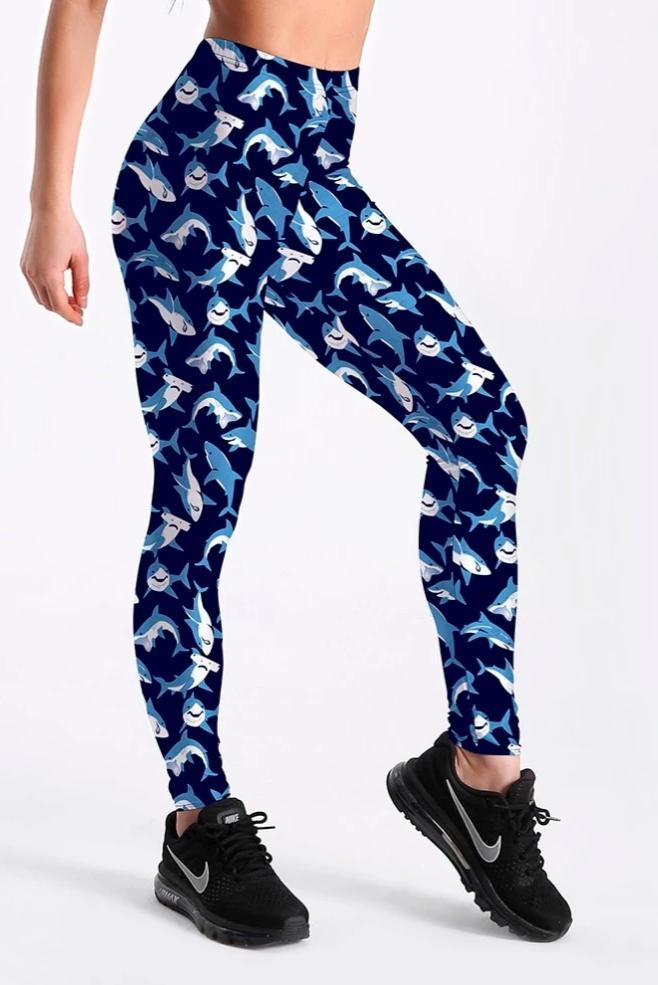 Shark Leggings - yeshark