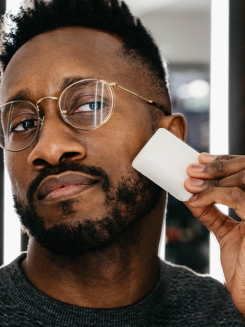 Ask the Barber: How to Use The Post-Shave Stone