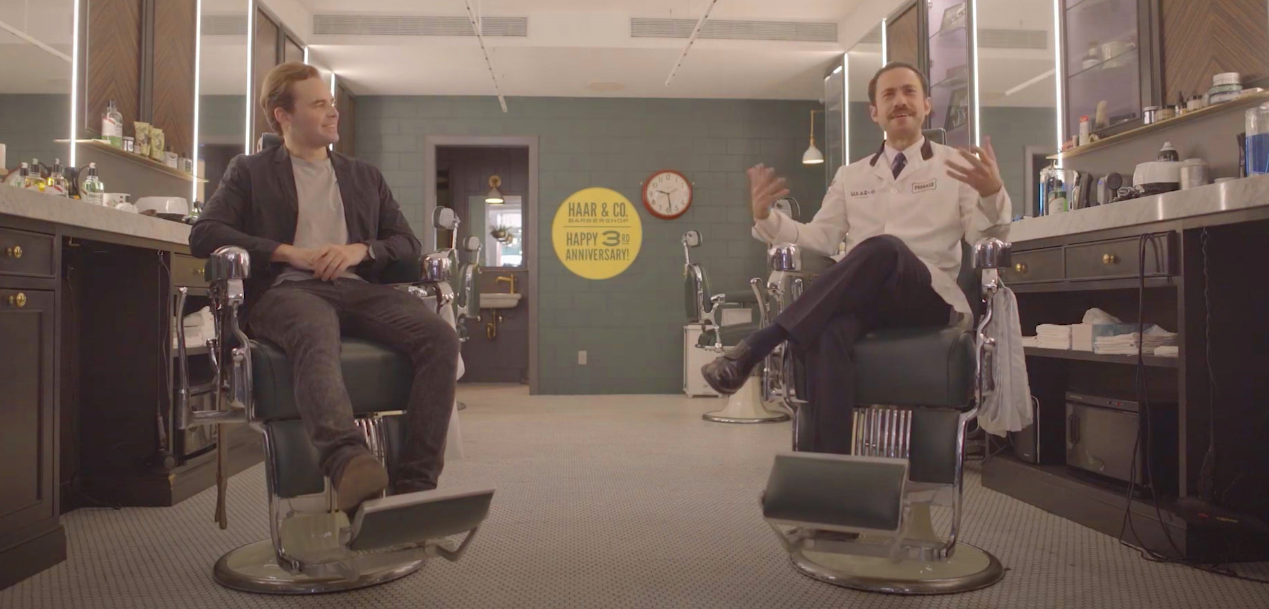 """""""Talking Shop"""" with Alec and Mike at Haar & Co Barbershop"""