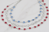 How To Make A Layered Estrella Triple Strand Crystal Necklace