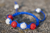 Red, White & Blue: Yankee Doodle Sweetheart Bracelet Tutorial