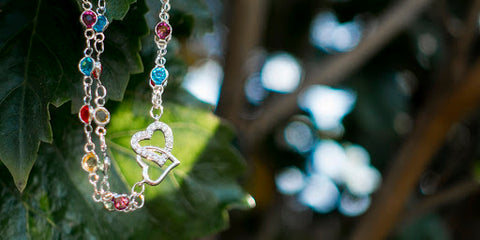 Esrella linked crystals and sparkling charms link easily together for easy-to-make bracelets and necklaces.