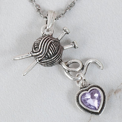 Knitting Lover's pendant