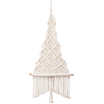 Solid Oak DIY macrame kit - Christmas Tree