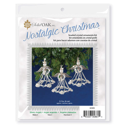 Nostalgic Christmas™ Ornament Kit - Silvery Angels