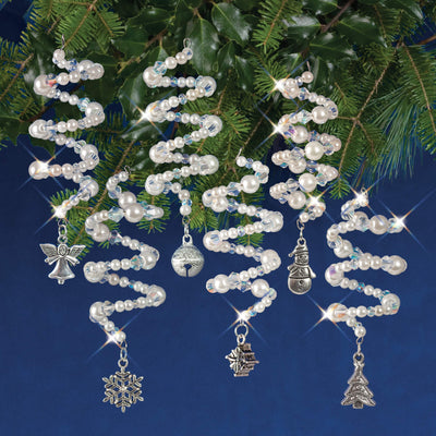 Nostalgic Christmas™ Ornament Kit - Silver Charmers