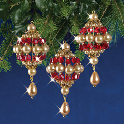 Nostalgic Christmas™ Ornament Kit - Baroque Drops