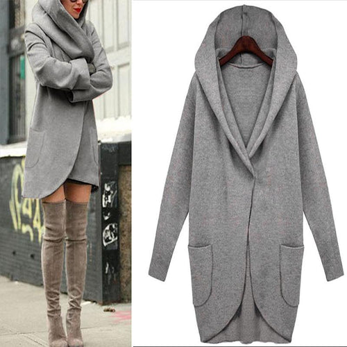 Long Sleeve Fashion Loose Outwear