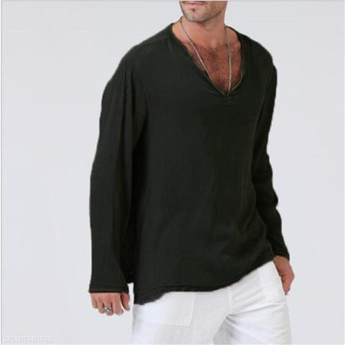 Fashion Youth Casual Sport Loose Plain Long Sleeve Top