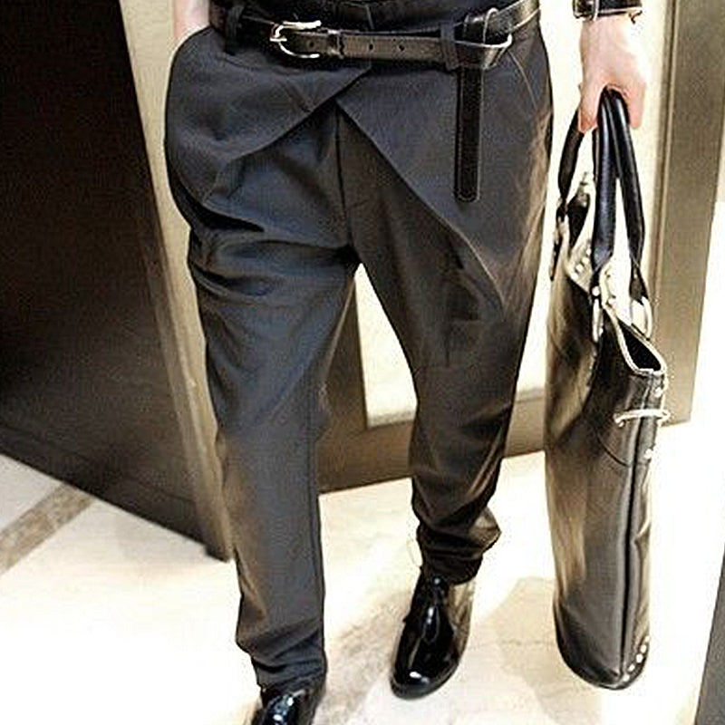 Business Casual Straight Trousers