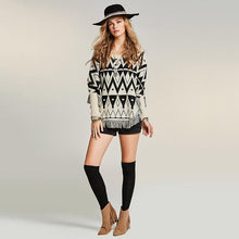 Tassel Geo Sweater